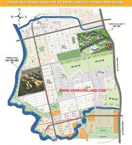 Bản đồ quy hoạch mỹ phước 4