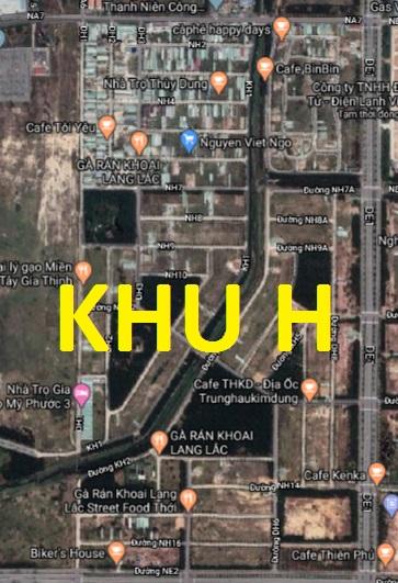 Khu dân cư Mỹ Phước 3 hiện nay khu H