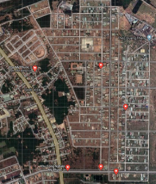 khu L MỸ PHƯỚC 3 Khu dân cư Mỹ Phước 3 hiện nay như thế nào